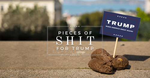 Image result for trump piece of shit